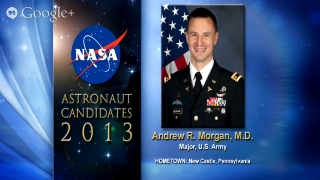 Astronaut Candidate Andrew R. Morgan