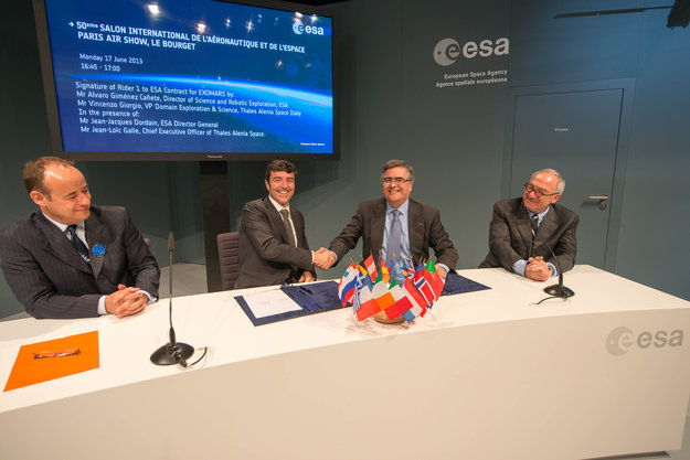 ESA Signs Contract for ExoMars