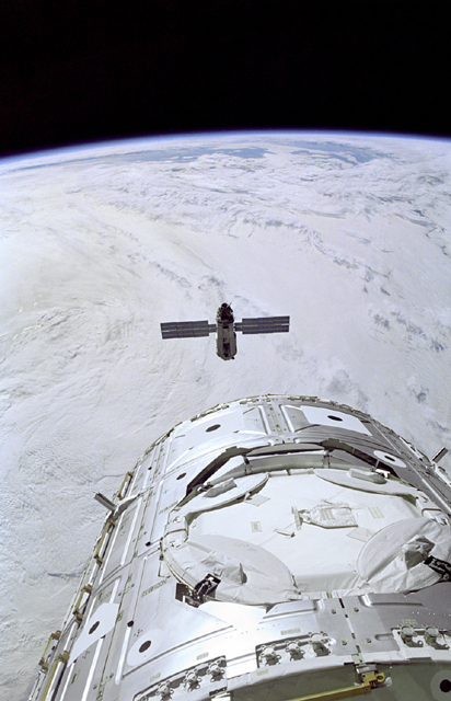 Space History Photo: Rendezvous with Zarya
