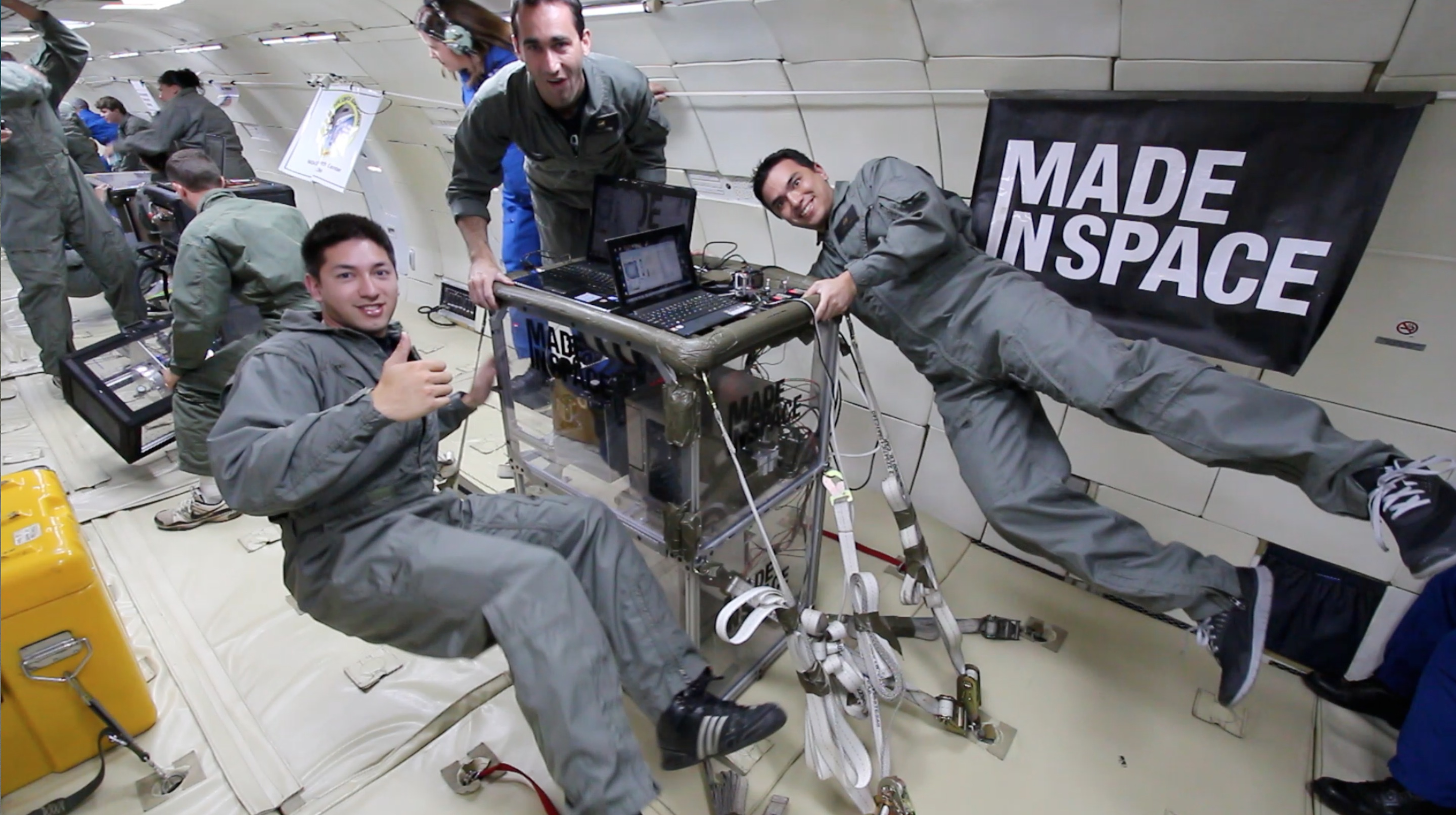 3D Printer Passes Microgravity Flight Tests