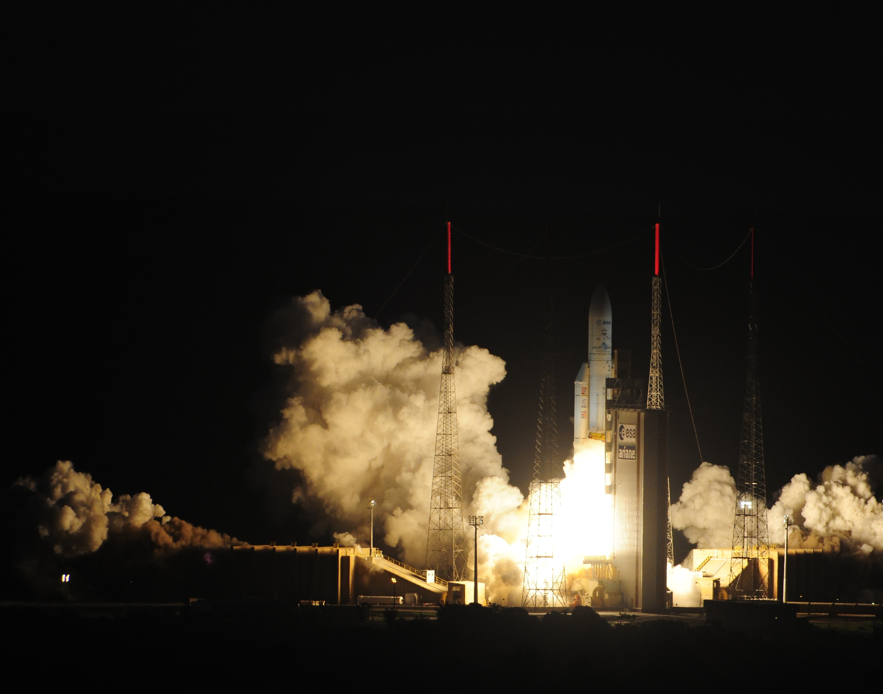 Ariane 5 Begins Launch with ATV-4