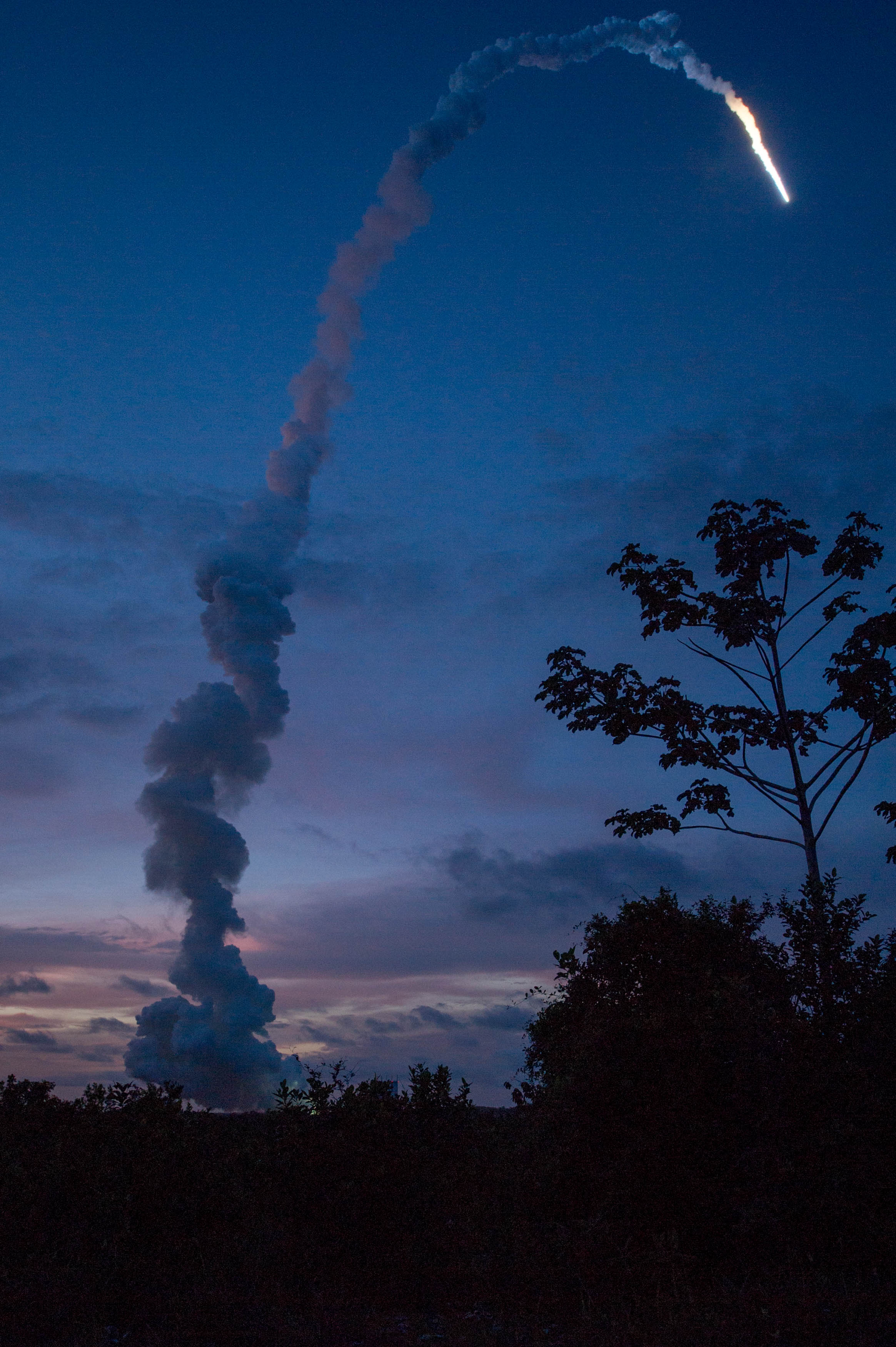 ATV-4 Soars to ISS