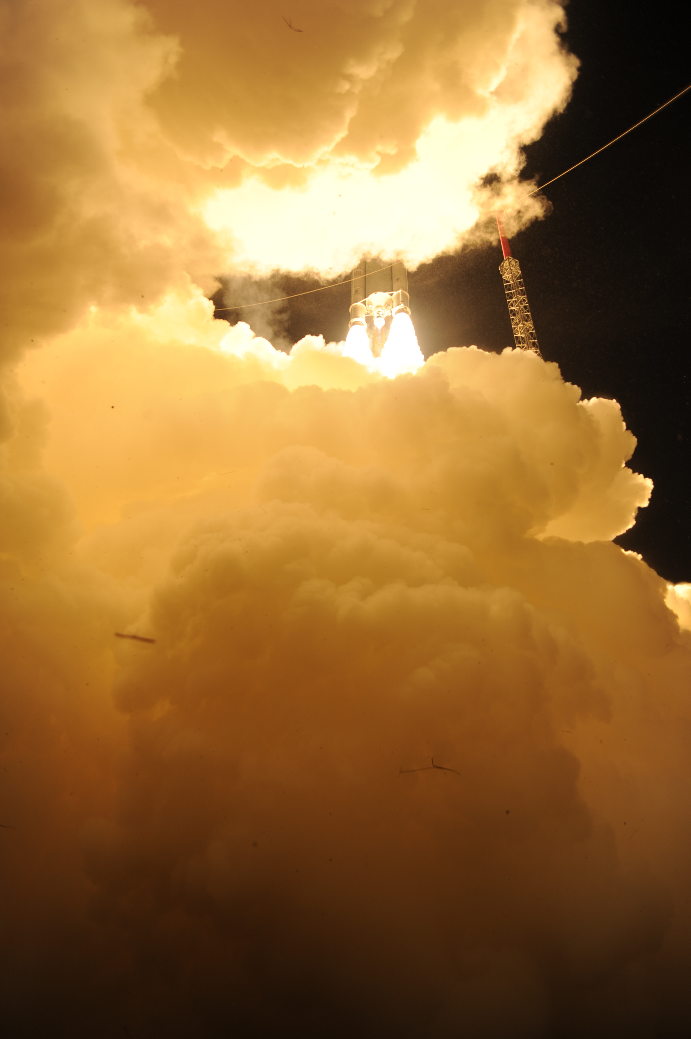 Lift Off! Ariane 5 Begins Journey with ATV-4