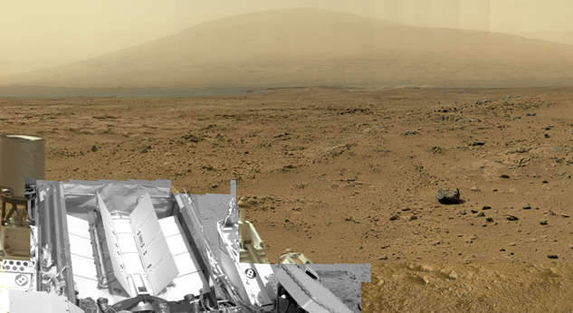 Billion-Pixel Mars Mosaic from Curiosity Rover