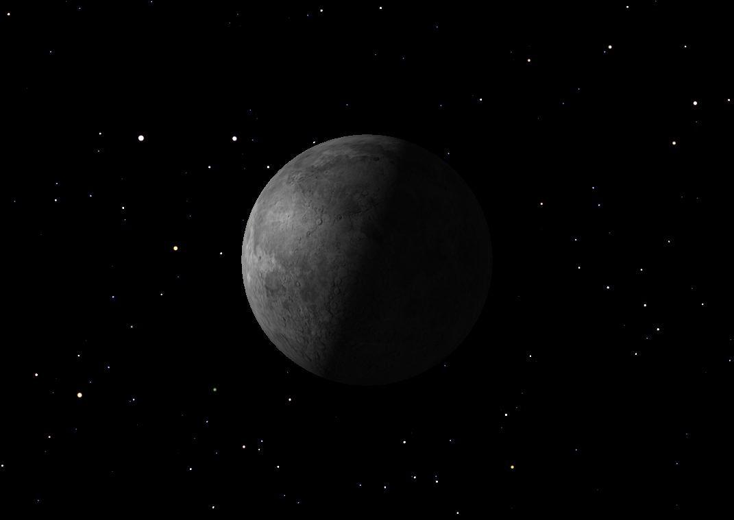 Last Quarter Moon, July 2013