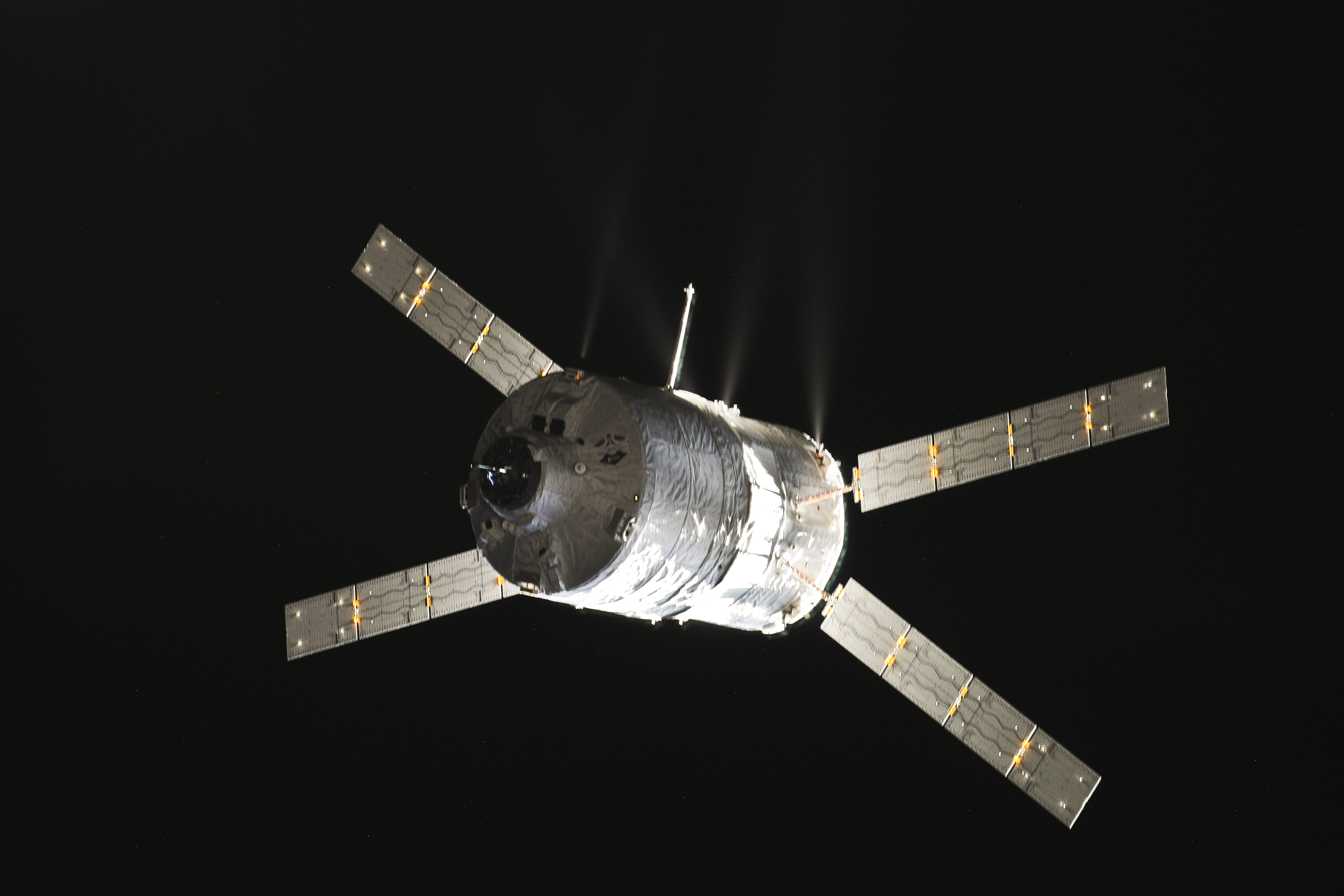 ATV-4 Rendezvous with ISS