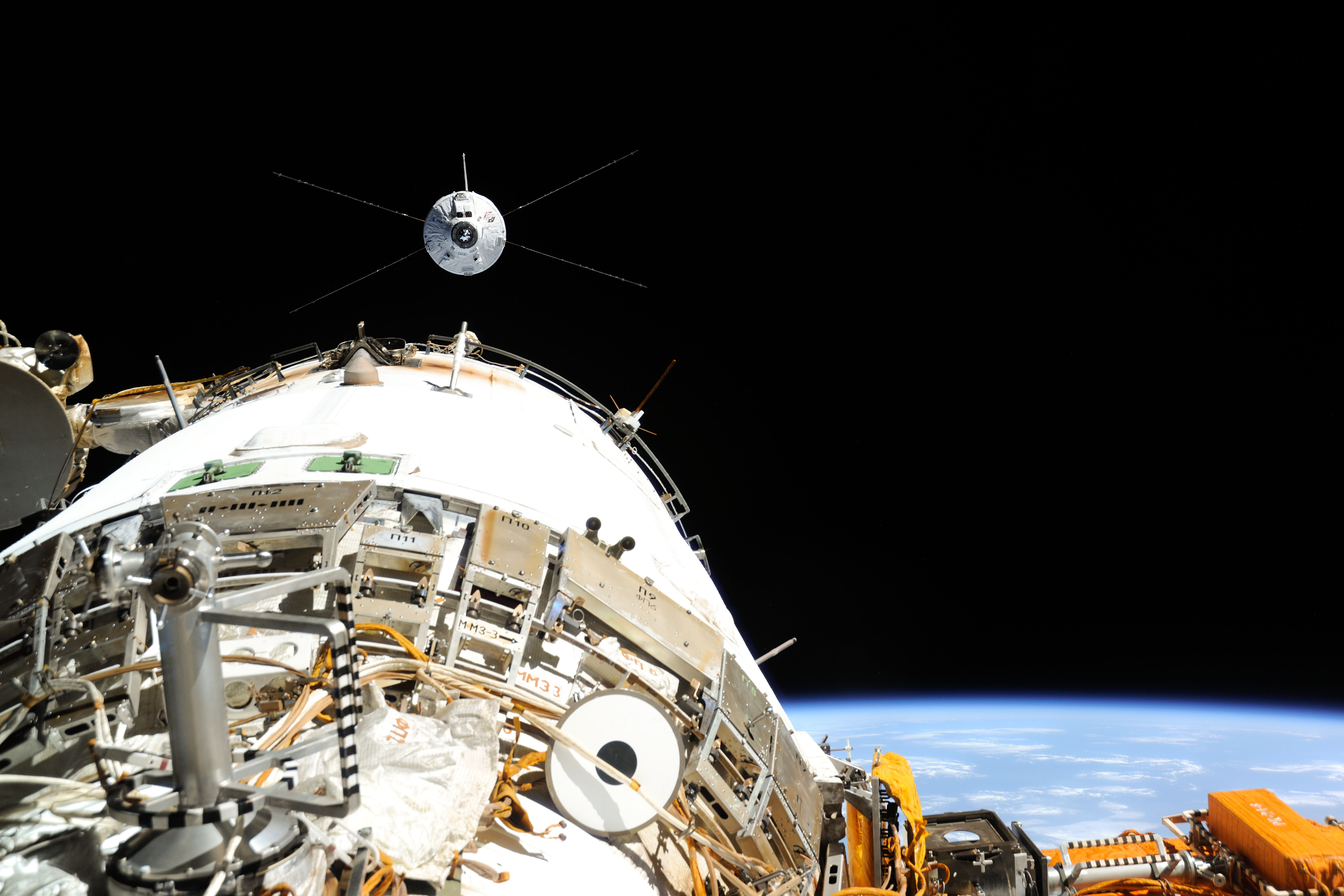 ATV-4 Approaches ISS