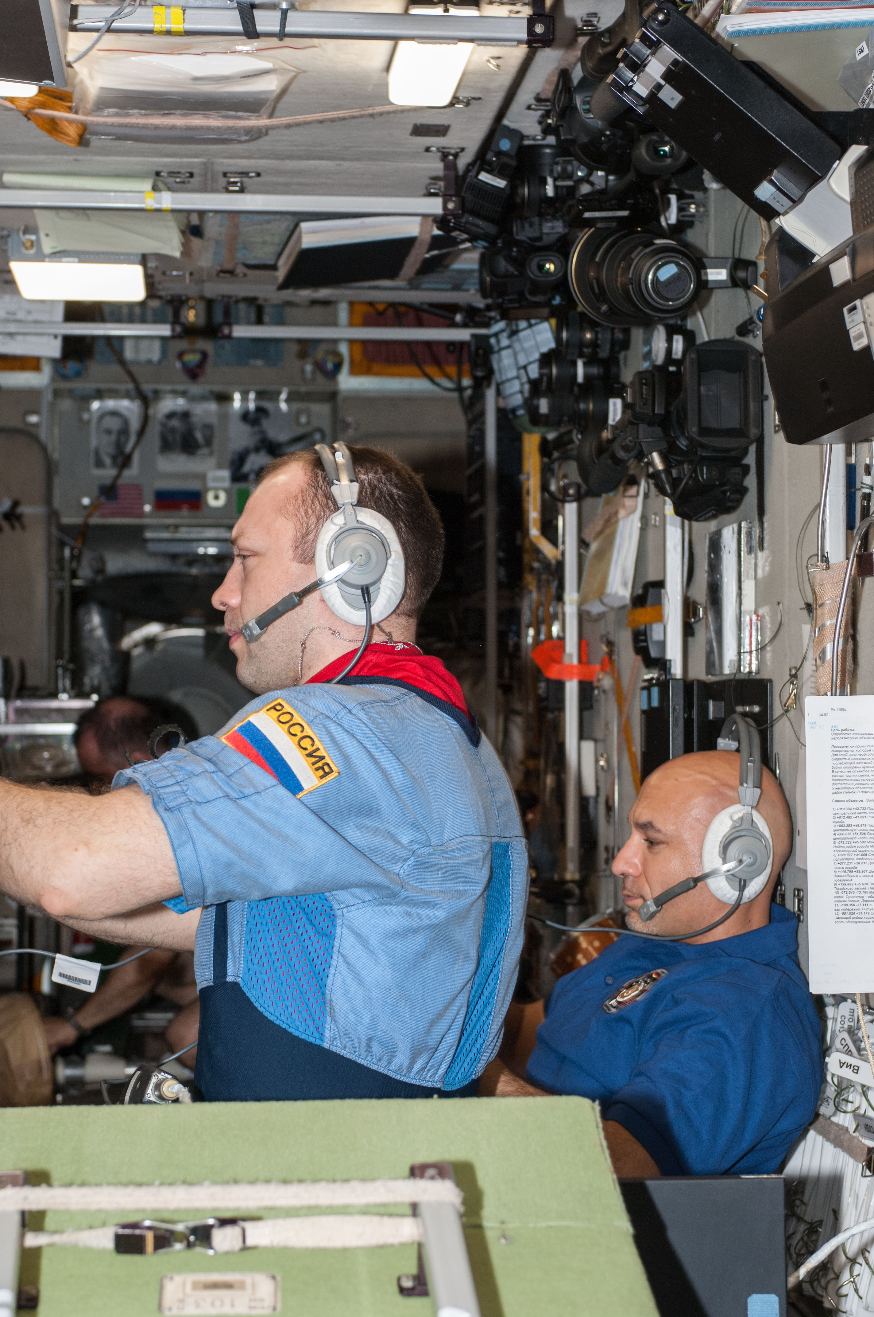 ISS Crew Awaits ATV-4