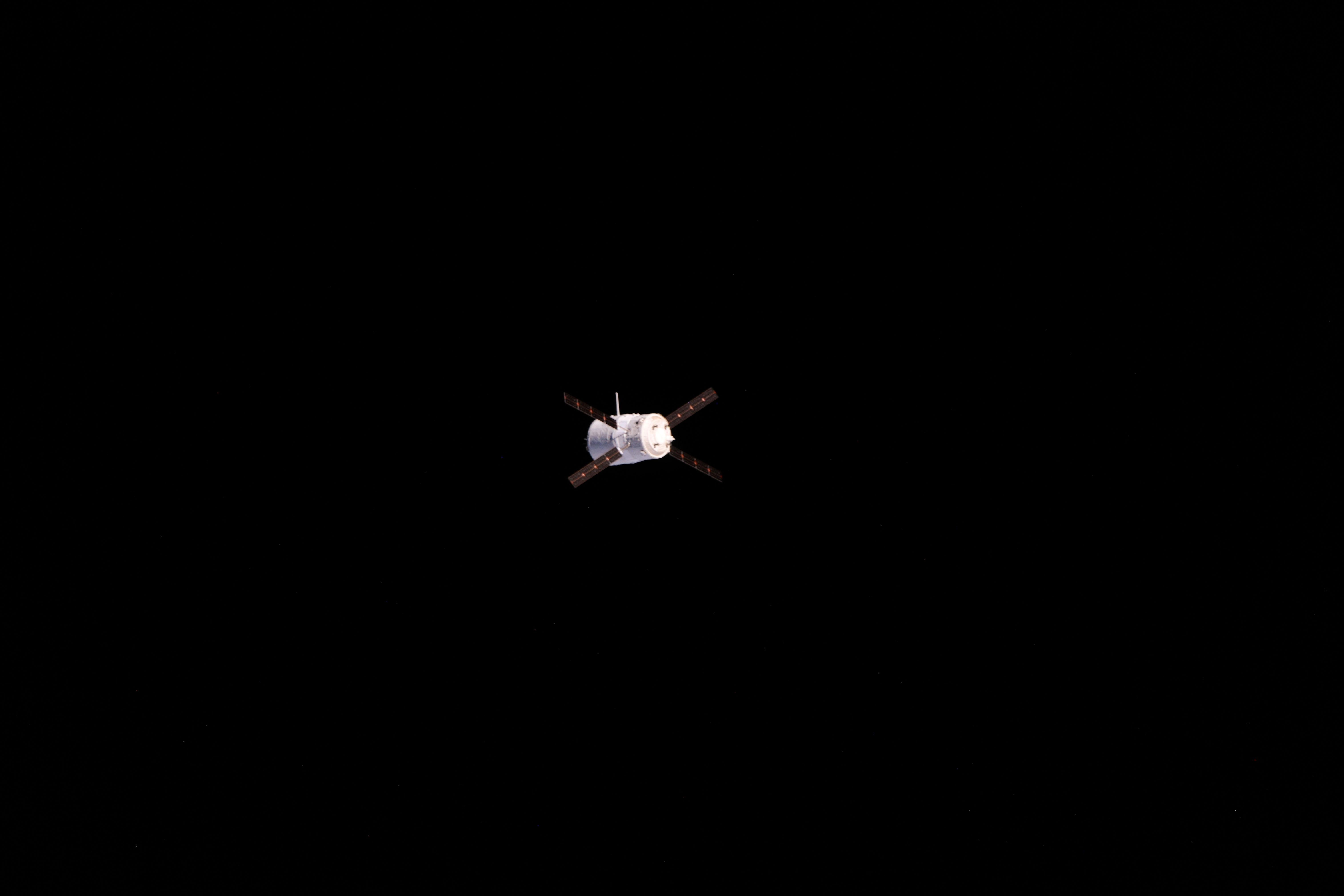 ATV-4 Docks at ISS