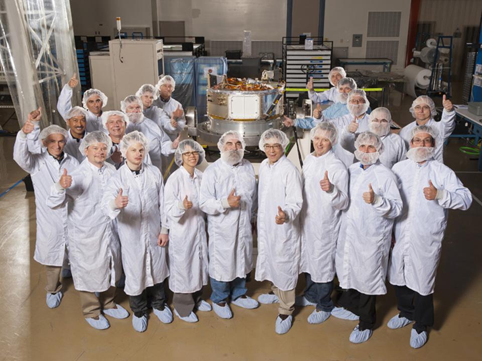 IRIS Spacecraft Team