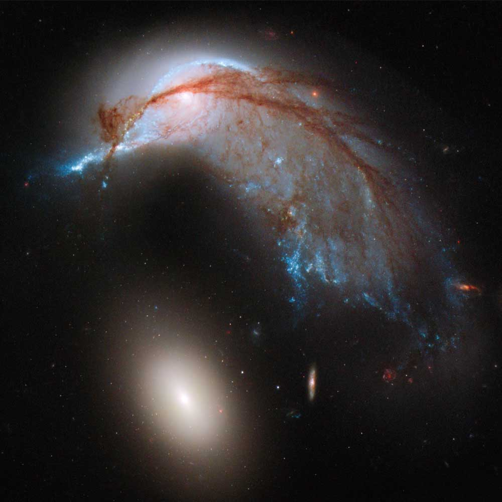 Arp 142: When Galaxies Collide