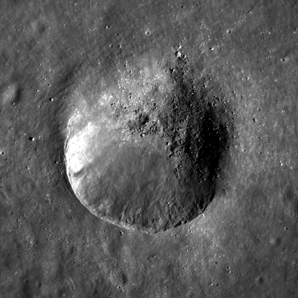 Young Oval Crater