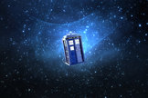 The Doctor's time machine is the TARDIS, which stands for Time and Relative Dimensions in Space.
