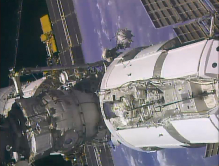 Moving Along the International Space Station