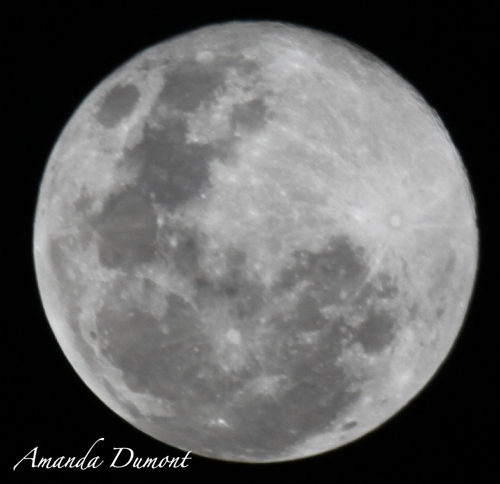 June 2013 Supermoon Over South Africa