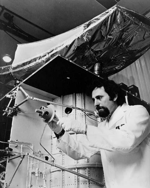 Space History Photo: Satcom, Communication Satellite