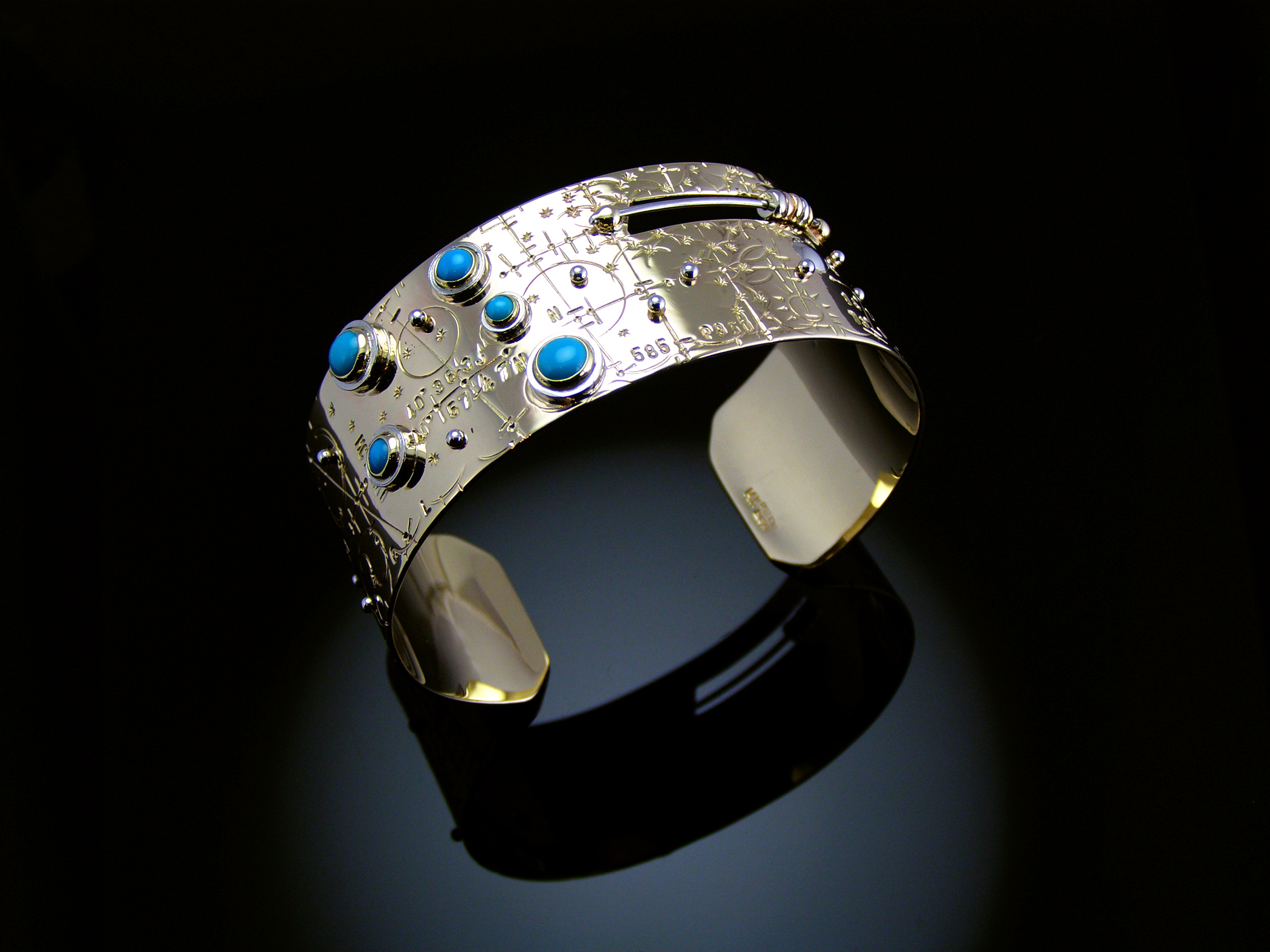 Time Traveler Constellation Cuff