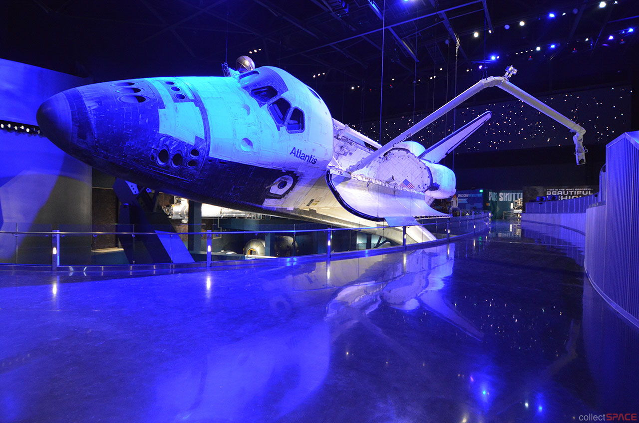 Space Shuttle Atlantis Exhibit Set to Launch This Week