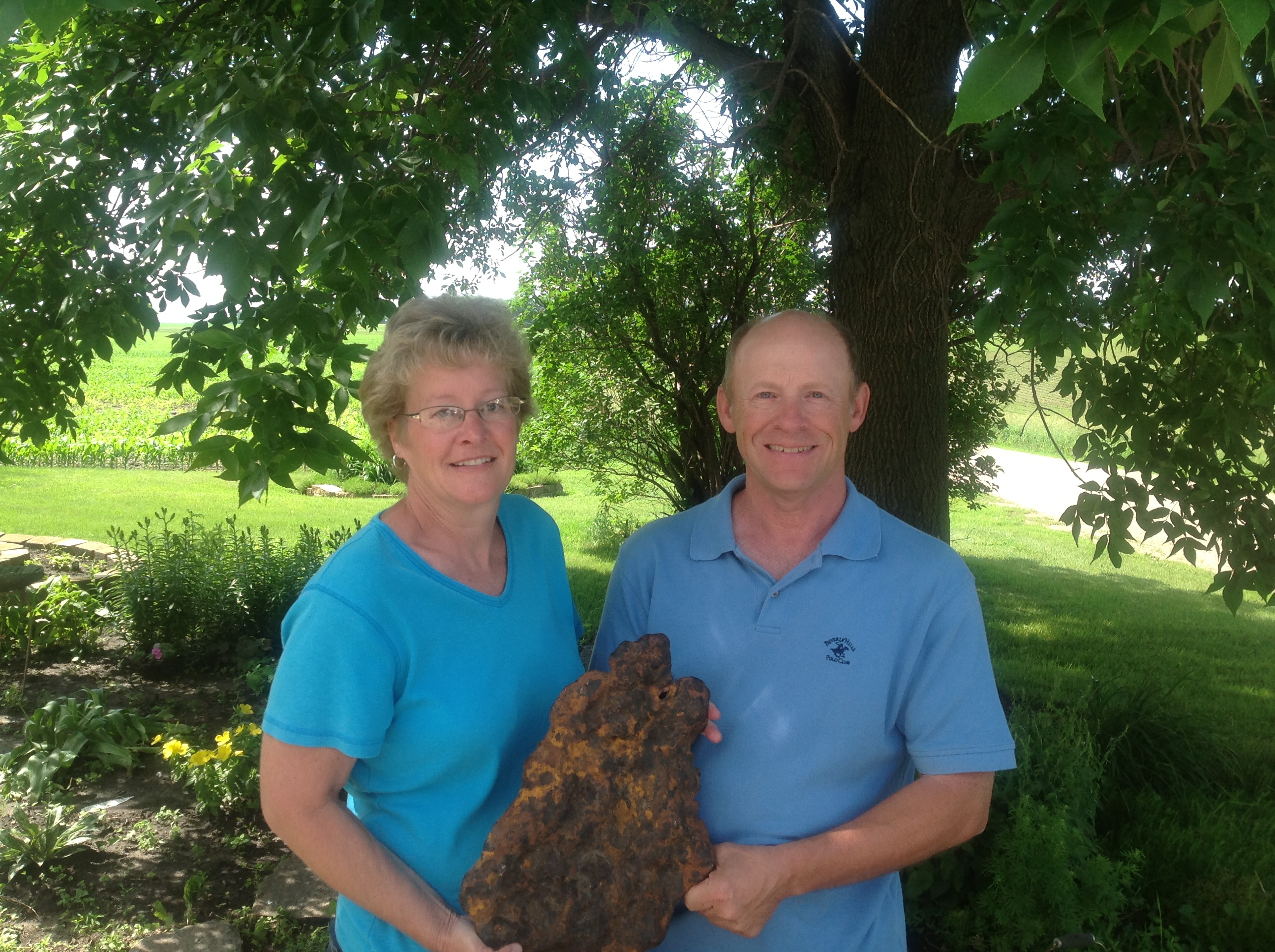 Farmers Discover Rare Meteorite in Minnesota Corn Field