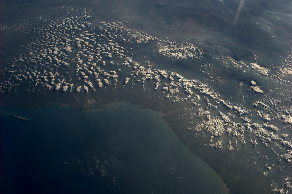 Mozambique From ISS