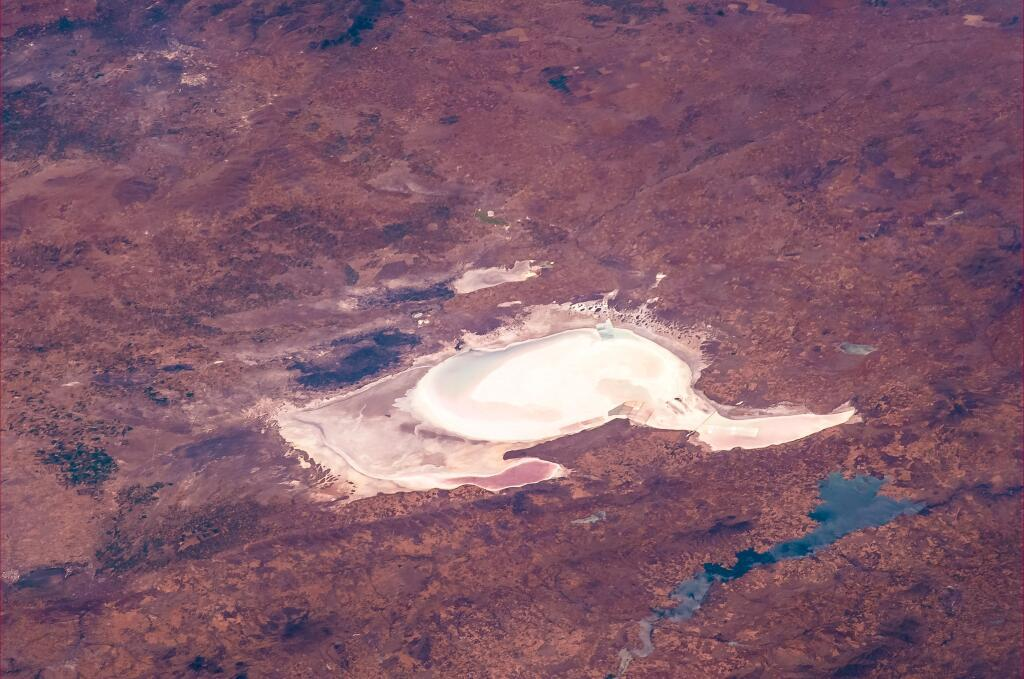 Dry Lake in Anatolya