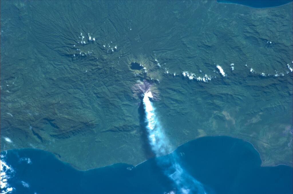 Active Volcano in Sicily