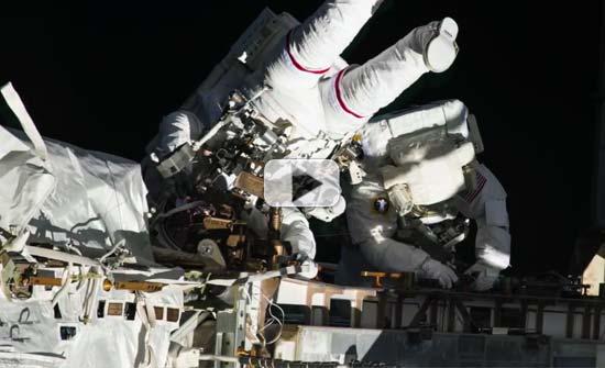 Leaky Space Station: Astronauts Swap EVA Repair Stories ...