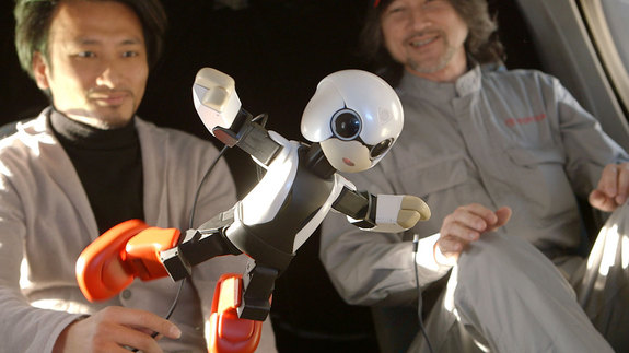 Kirobo was put through a series of zero-gravity and other safety tests before it was deemed ready for flight. Image posted June 27, 2013.