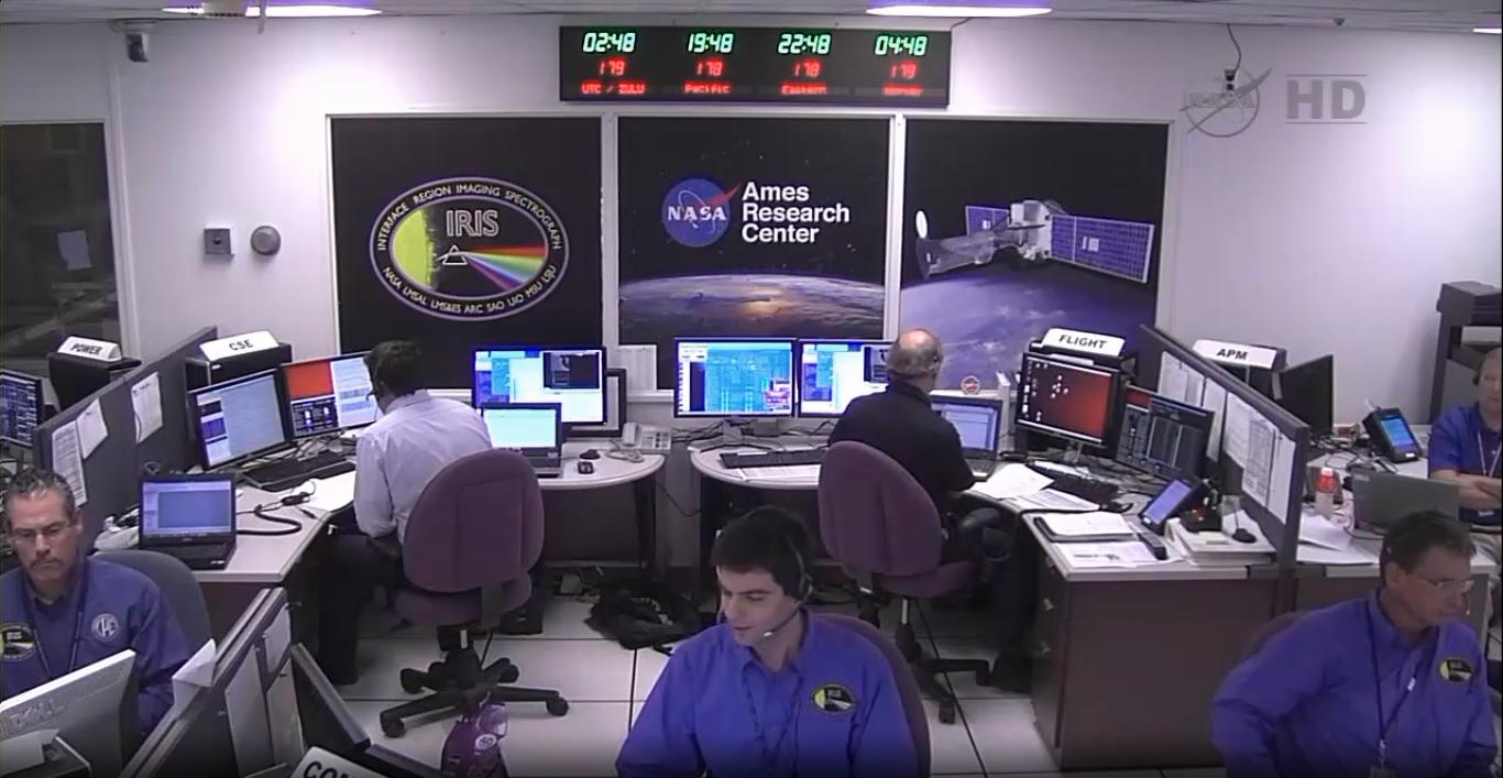 NASA IRIS Sun Telescope: Mission Control