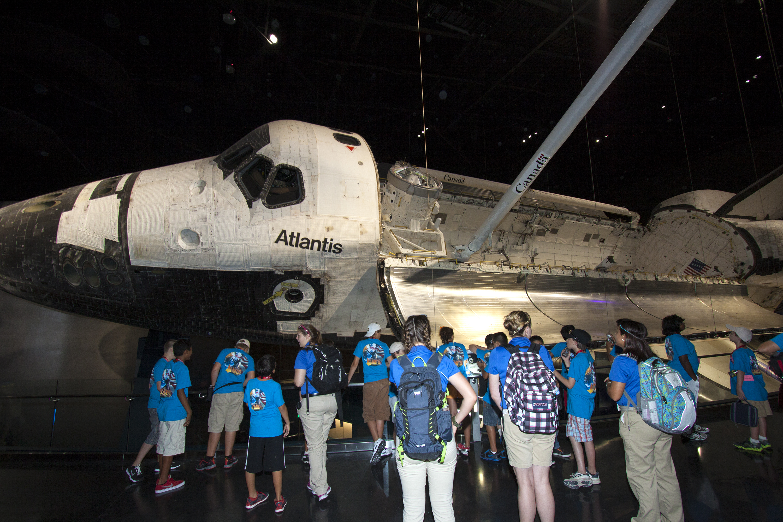 Up-close Look at Space Shuttle Atlantis