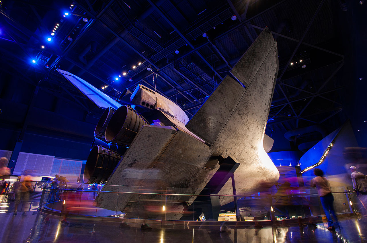 Space Shuttle Atlantis 360: KSC Visitor's Complex