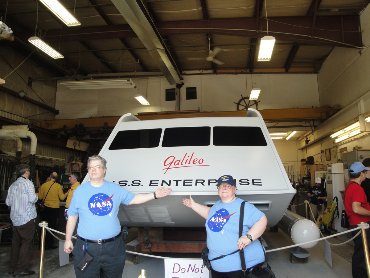 For Galileo Shuttlecraft, Next Stop: NASA