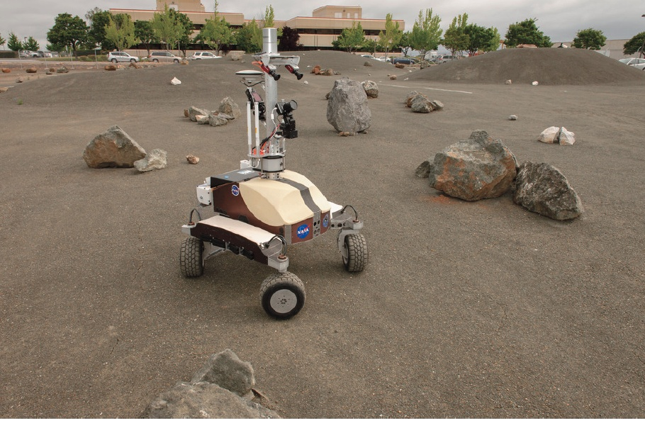 NASA K10 Rover Surface Survey