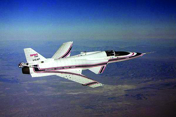 Space History Photo: X-29 in Flight