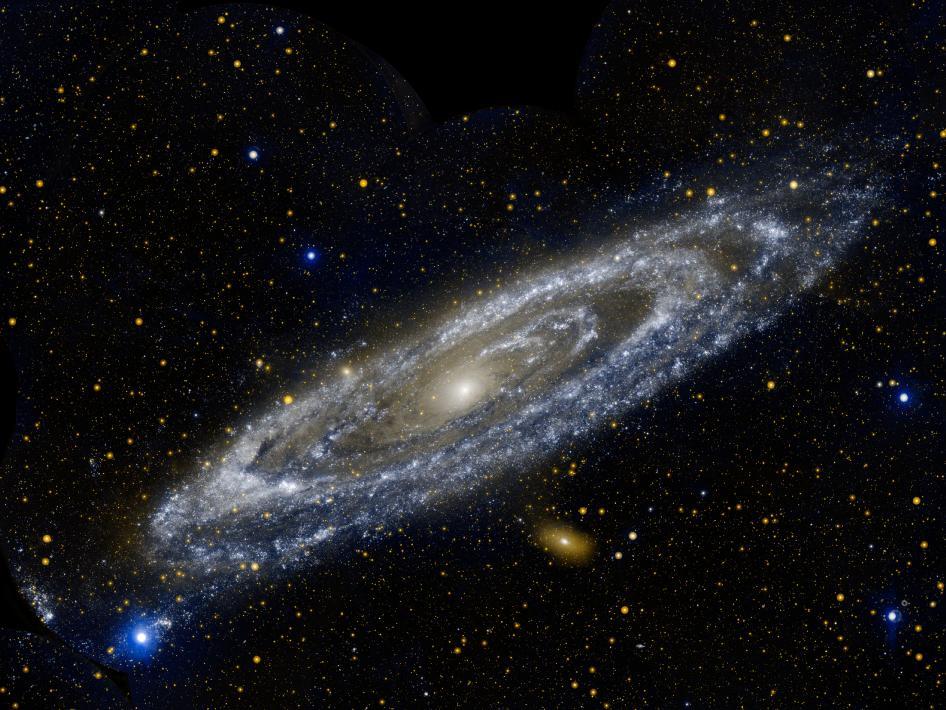 The Galaxy Next Door