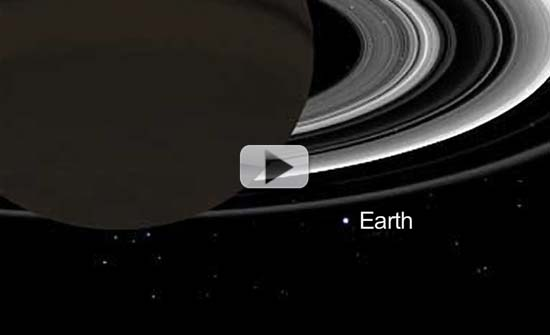Smile! Earth And Saturn Together In July Photo-Op | Video