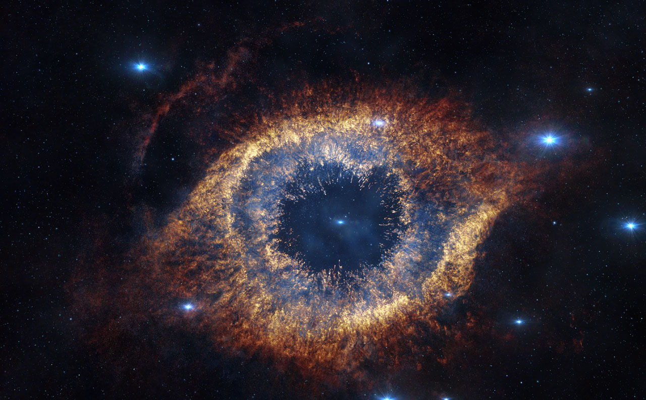 Helix Nebula in 'Hidden Universe'