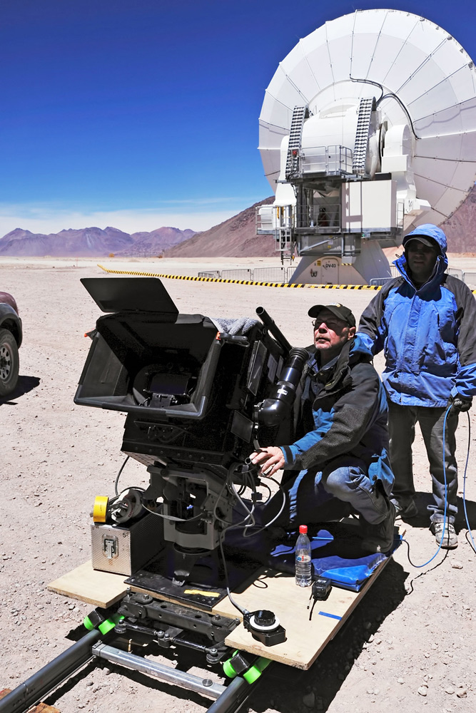 Filming 'Hidden Universe' in Chile