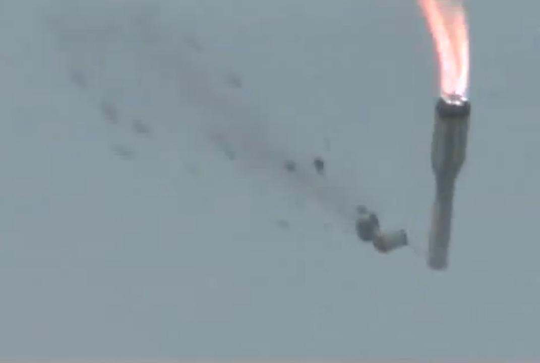 Proton Rocket Fails During Launch