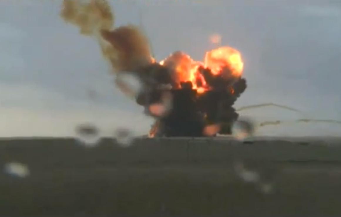 Russian Proton Rocket Explosion: July 2, 2013