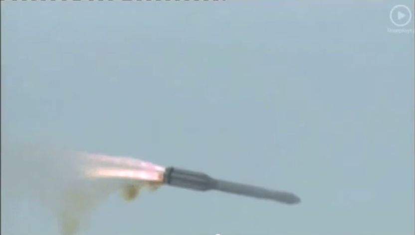Russian Proton Rocket Goes Out of Control