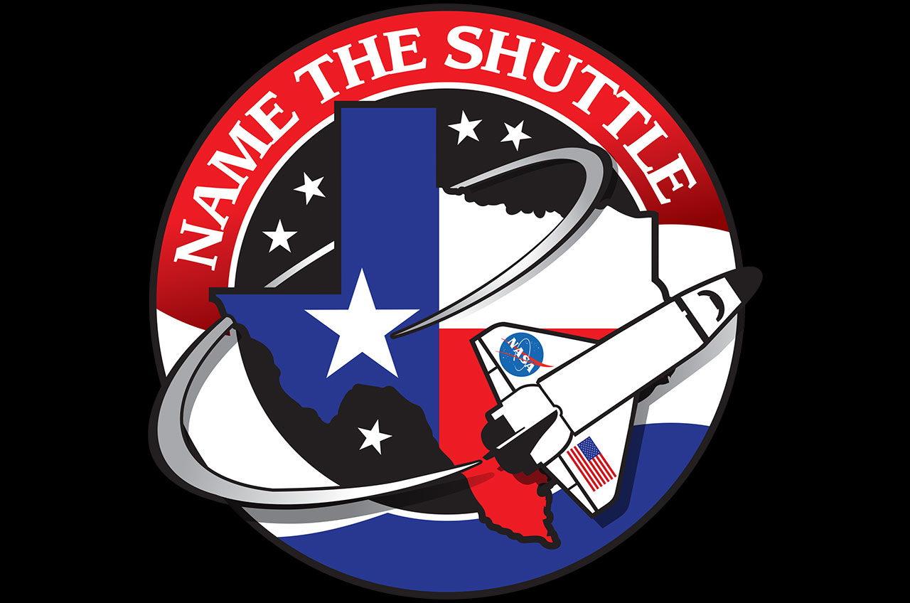 Mock Space Shuttle