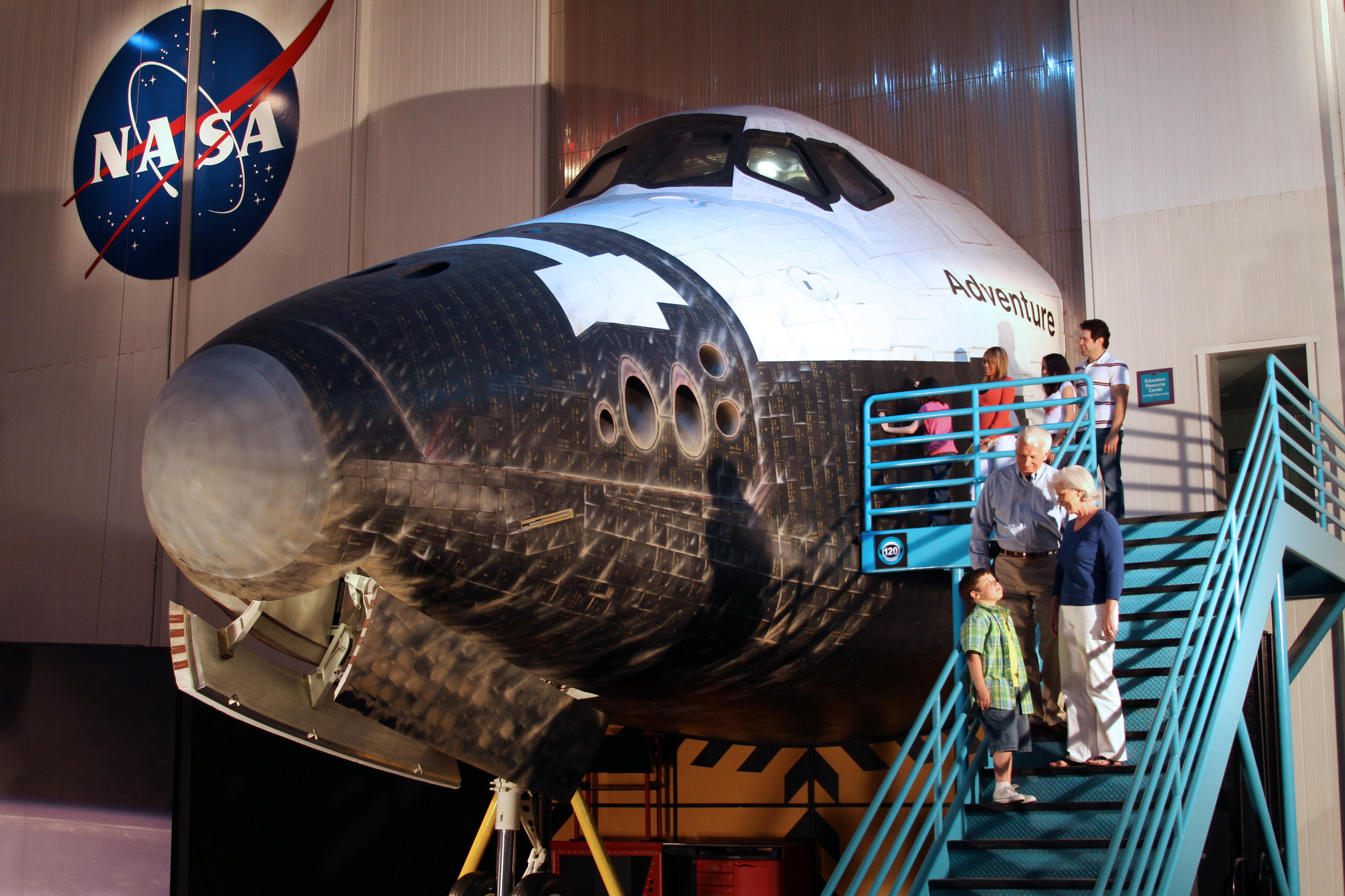 Space Shuttle Mock-Up