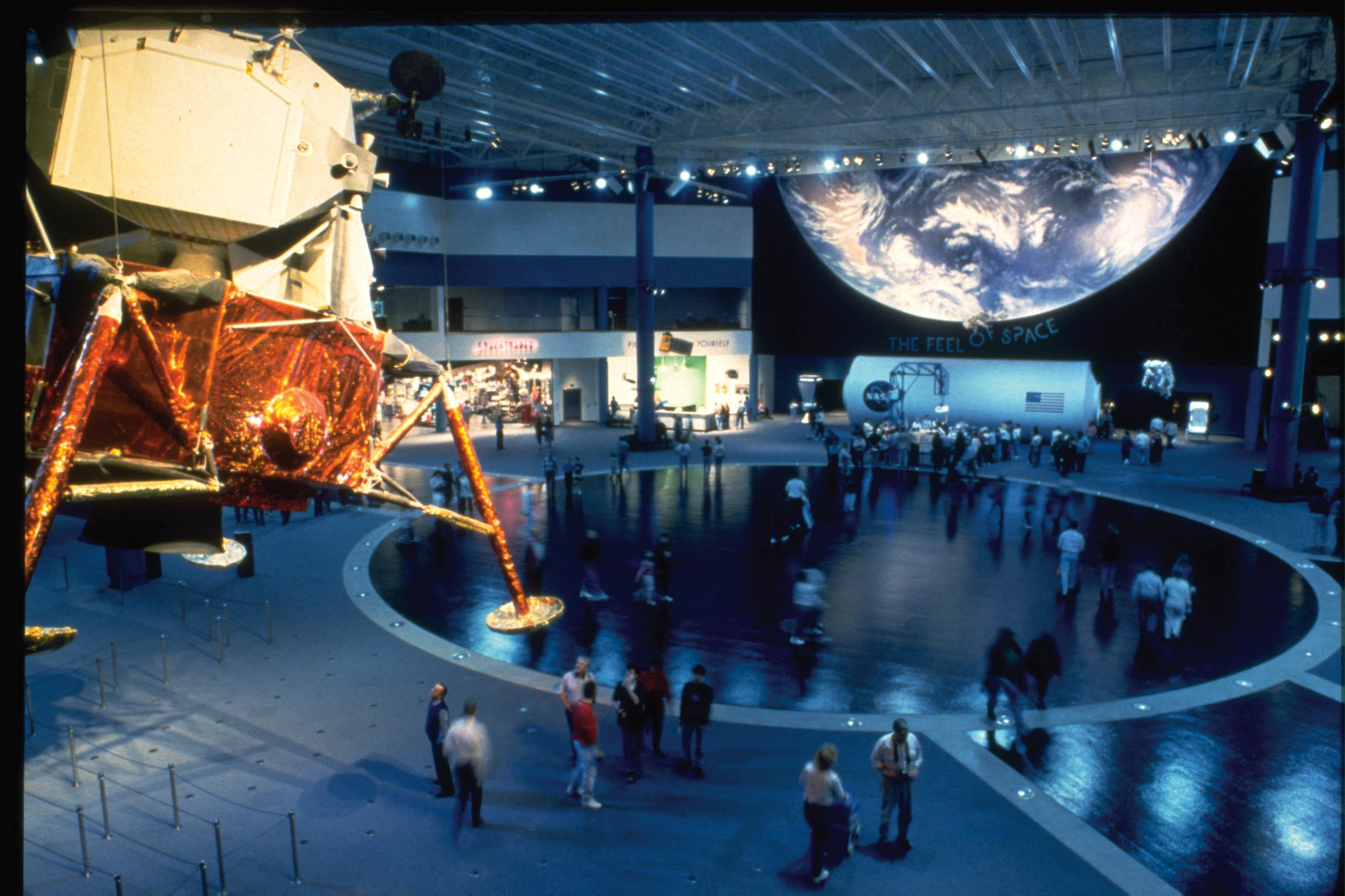 Space Center Houston Plaza