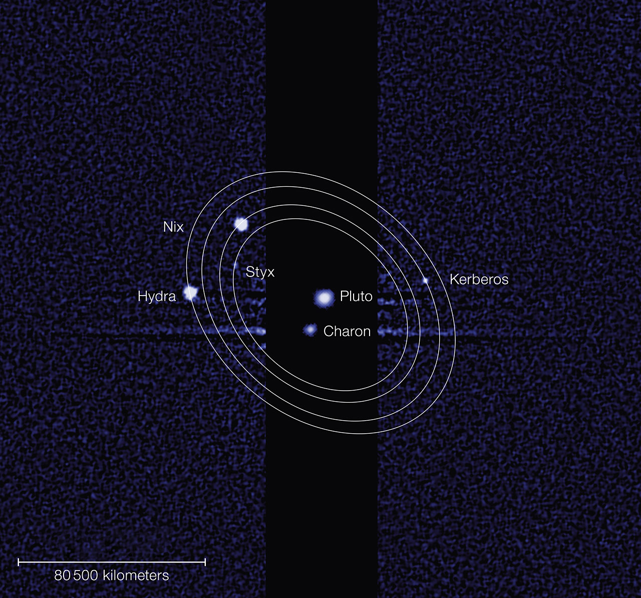 2 Pluto Moons Get New Names (Sorry 'Star Trek' Fans)