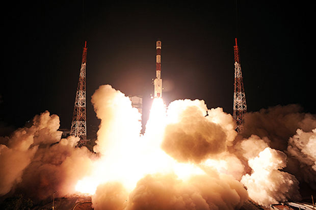 India Launches Its First Navigation Satellite