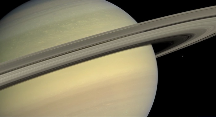 Fly Through Space Photos 'In Saturn's Rings' | Video