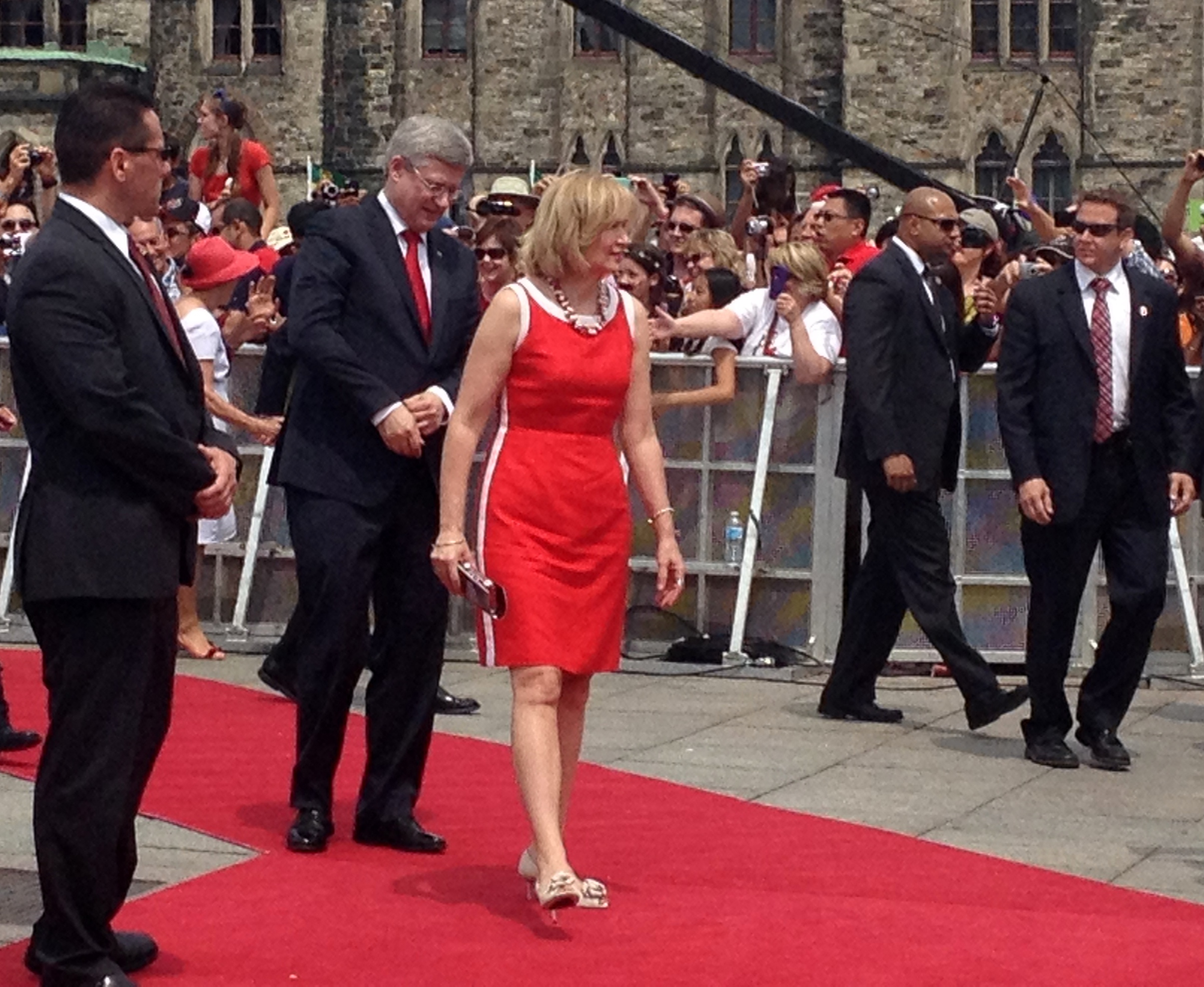 Prime Minister and Wife Enjoy Canada Day Festivities