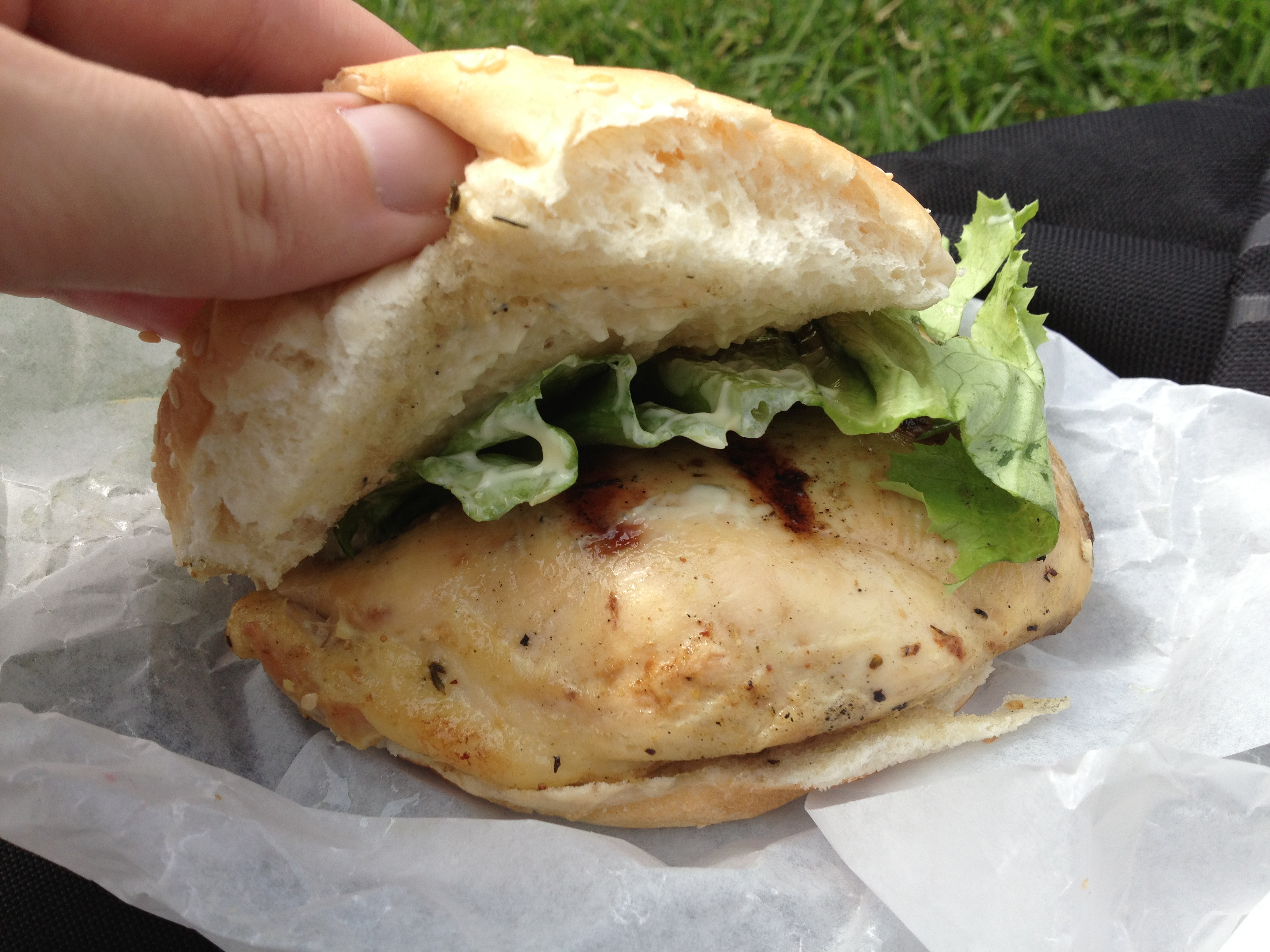 'Back to Earth' Chicken Sandwich