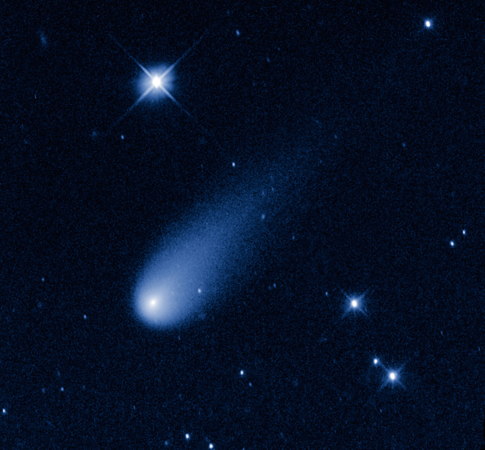 Hubble Telescope Snaps 'Comet of the Century' Fireworks (Video)